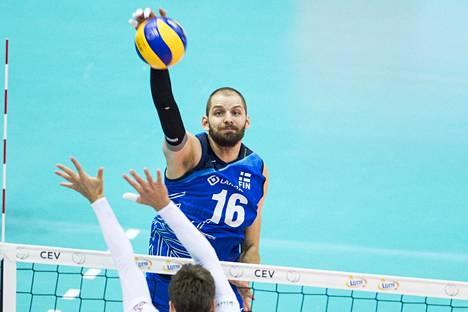 Olli-Pekka Ojansivu oli EM-kisoissa jälleen Suomen tärkeimpiä pelaajia.