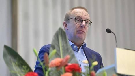 SAK:n puheenjohtaja Jarkko Eloranta kertoi ajankohtaiskatsauksen syysedustajiston kokouksessa Helsingissä torstaina.