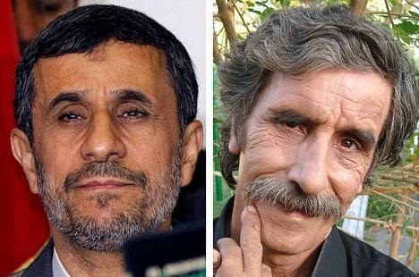 Mahmud Ahmadinejad ja Mahmud Basiri