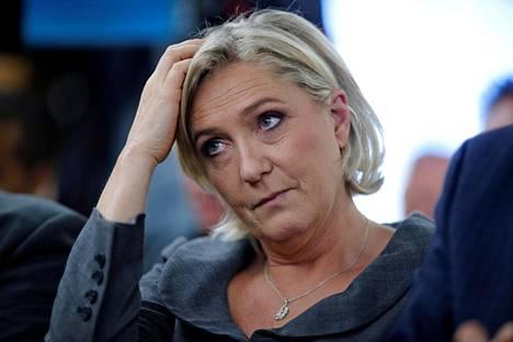 Marine Le Pen on Kansallisen rintaman ehdokas Ranskan presidentinvaaleissa ensi keväänä.