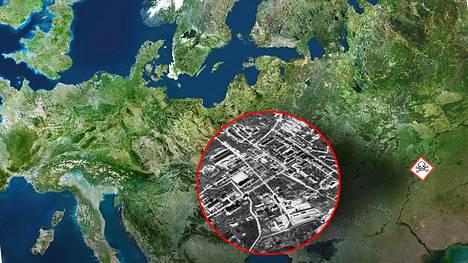 Šihanyn kemiallisten aseiden tuotantolaitos sijaitsee Saratovin alueella Volgan eteläjuoksulla.