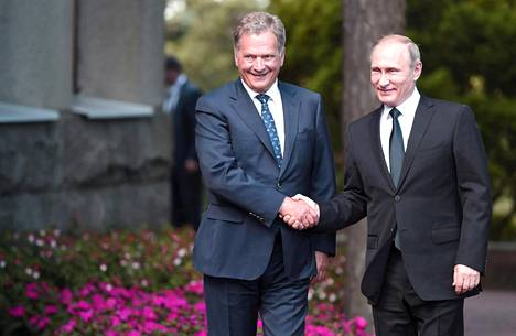 Suomen ja Venäjän presidentit tapasivat Naantalin Kultarannassa kesäkuussa 2016. Ensi viikolla Sauli Niinistö ja Vladimir Putin tapaavat Savonlinnassa.