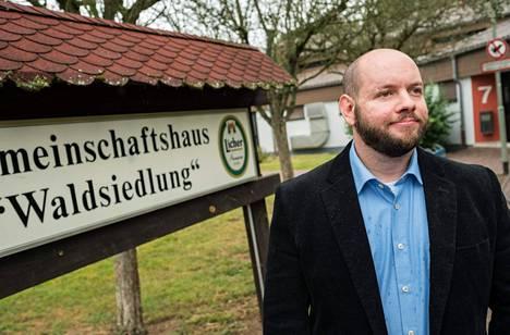 Waldsiedlungin valtuuston johtajaksi valittu Stefan Jagsch kuuluu uusnatsien NPD-puolueeseen.