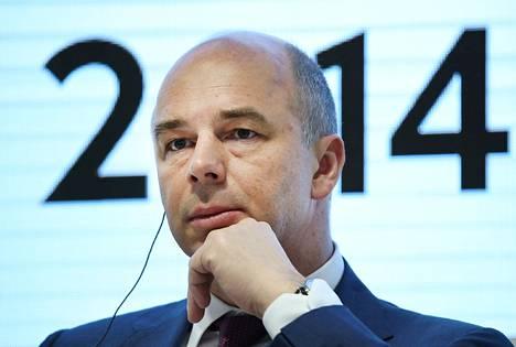 Venäjän valtiovarainministeri Anton Siluanov.