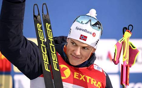 Johannes Hösflot Kläbo tulee kilpailemaan Helsinkiin tammikuussa.