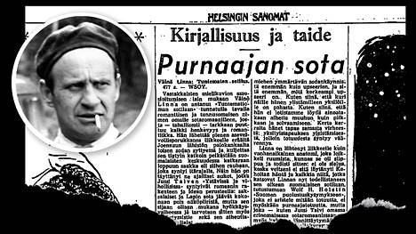 Toini Havun arvostelu Väinö Linnan Tuntemattomasta sotilaasta julkaistiin Helsingin Sanomissa 19.12.1954.