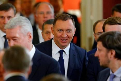 Oleg Deripaska kuvattuna Moskovan Kremlissä viime kesäkuussa.
