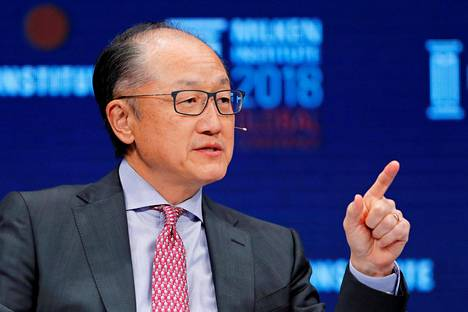Maailmanpankin pääjohtaja Jim Yong Kim.