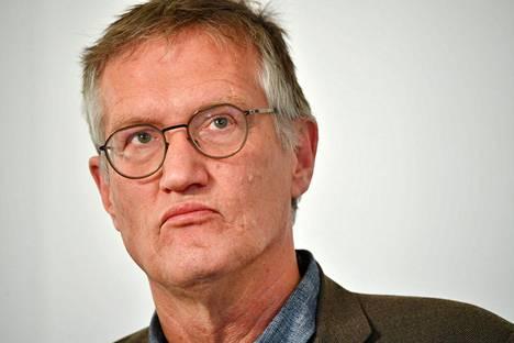 Pääepidemiologi Anders Tegnell.