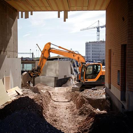 Monttuja kaivetaan katukuvaan myös siksi, että kaupunki kasvaa.