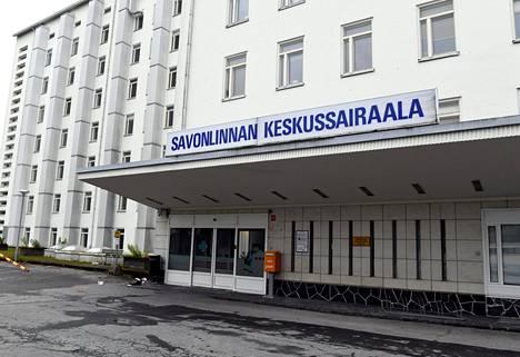 Savonlinnan keskussairaala.
