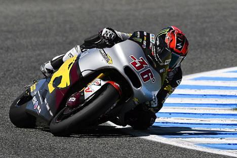 Mika Kallio lähti paalulta ja voitti Jerezissä sunnuntaina.