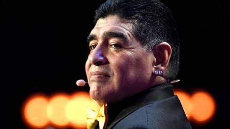 Diego Maradona 2017.