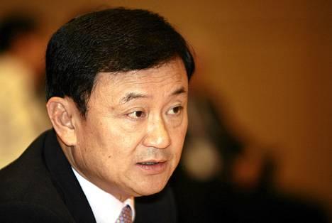 Thaksin Shinawatra syrjäytettiin pääministerin tehtävistä vuonna 2006.
