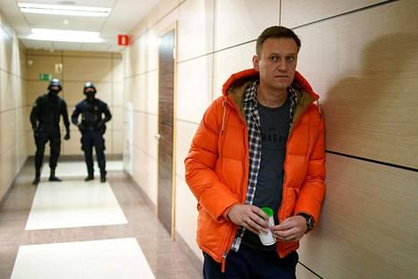 Aleksei Navalnyi joulukuussa 2019 Moskovassa.