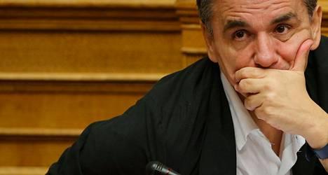 Kreikan valtiovarainministeri Eukleidis Tsakalotos.