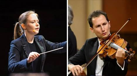 Kapellimestari Gemma New johti Helsingin kaupunginorkesteria ensi kertaa. Konsertin solistina soitti alttoviulisti Antoine Tamestit.