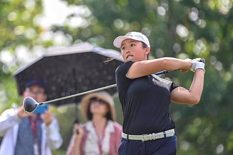 Yin Ruoning on uusi nouseva kyky golfissa.