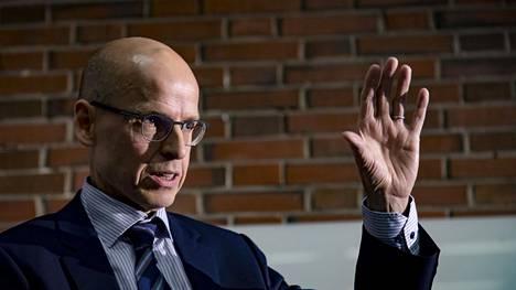 Valtiovarainministeriön valtiosihteeri Martti Hetemäki.