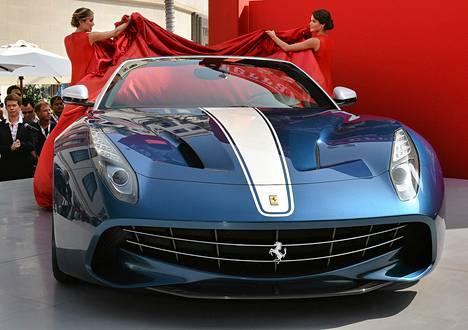 Ferrarin F60 America esiteltiin lokakuun 12. päivä Kaliforniassa.