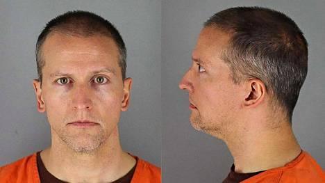 Derek Chauvin kuvattuna toukokuussa Hennepin piirikunnan vankilassa.