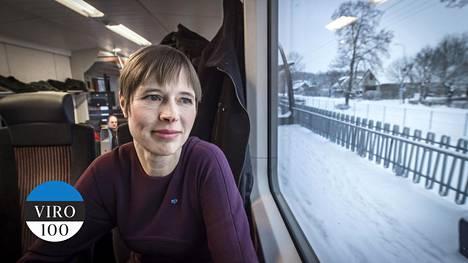 Presidentti Kersti Kaljulaidin mielestä virolaiset ovat hyvin vaativia maataan kohtaan.