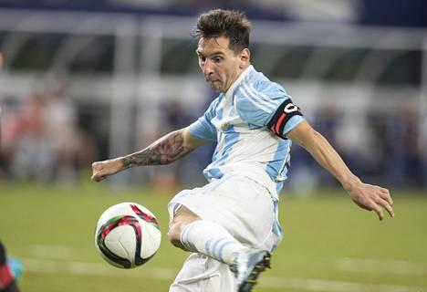Lionel Messi on Argentiinan maajoukkueen kapteeni. Viime syyskuussa Argentiina kohtasi Meksikon Yhdysvalloissa.