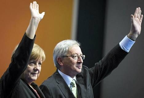 Angela Merkel ja Jean-Claude Juncker