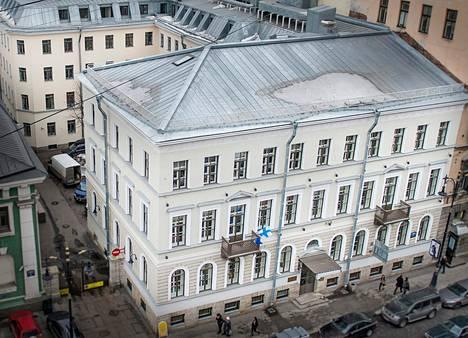 Suomi-talo otettiin käyttöön peruskorjauksen jälkeen vuonna 2010. Saman katon alle on haluttu kerätä eri alojen suomalaistoimijoita.