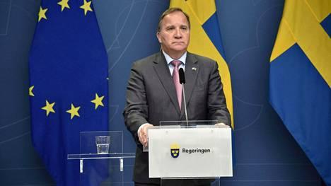 Ruotsin pääministeri Stefan Löfven pyrkii löytämään ratkaisua hallituskriisiin. Luottamusäänestys on edessä maanantaina kello 11.