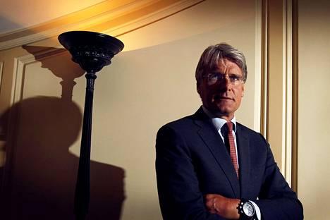 Ruotsalainen pääomasijoittaja Christer Gardell vuonna 2011.
