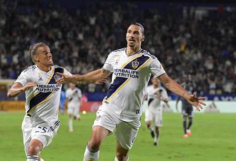 Zlatan Ibrahimovic pelasi vahvan kauden Yhdysvalloissa.