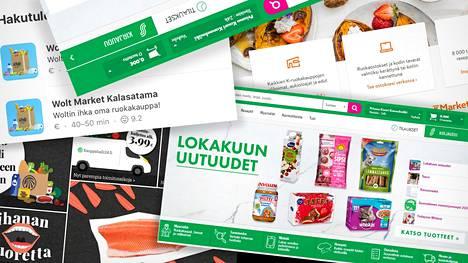 Ruoan ostaminen verkosta on yleistynyt Helsingissä ja lähialueilla.