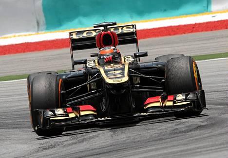Kimi Räikkönen sijoittui 7:nneksi Malesian F1-aika-ajossa.