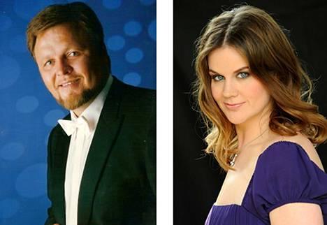 Kazakstanilais-saksalainen baritoni Oleg Bryjak ja saksalainen altto Maria Radner.