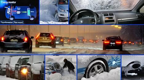 Talvi tuo autoiluun omat haasteensa.