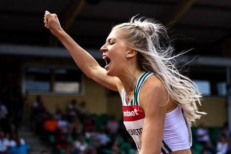 Sara Kuivisto kilpailee Berliinin EM-kisoissa 800 ja 1500 metrillä.