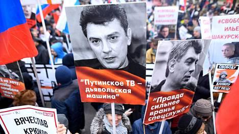Helmikuussa 2020 Nemtsovin muistokulkueeseen Moskovassa osallistui kymmeniä tuhansia ihmisiä. Tänä vuonna kulkue on koronavirustilanteen vuoksi peruttu.