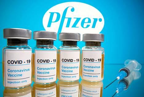 Lääkeyhtiö Pfizer kertoi marraskuussa, että sen ja Biontechin kehittämä koronavirusrokote antaa yli 90-prosenttisen suojan koronavirustaudilta. Kuvituskuva rokoteannoksista on lokakuun lopulta.