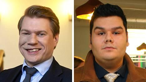 Timo Miettinen ja Leif Hagert.