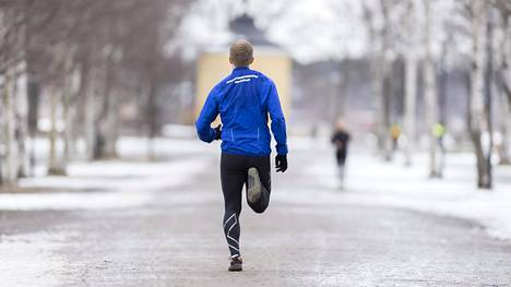 Juoksu kulkee, kun motivaatio on kohdallaan.