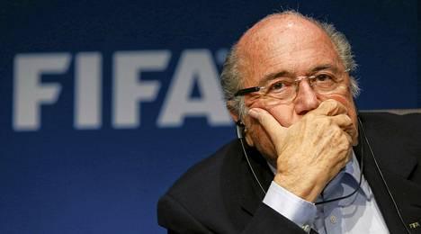 Fifan puheenjohtaja Sepp Blatter.