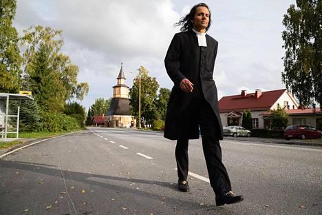 Kirkkoherra on Vesilahden nähtävyys.