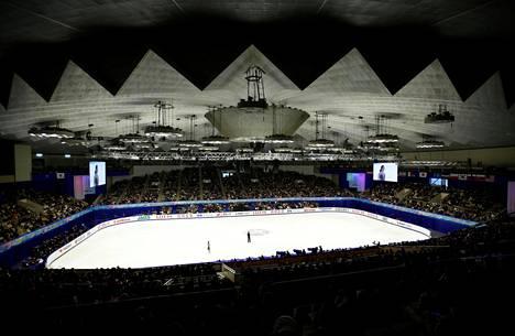 Aasian talvikisojen taitoluistelukilpailut pidetään Sapporon jääareenalla.