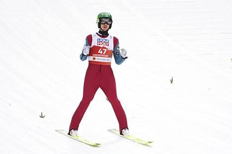 Ilkka Herolan toinen mitali Oberstdorfissa jää haaveeksi.