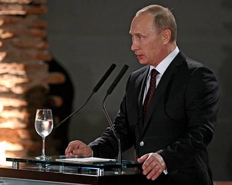 Putin puhui Buenos Airesissa lauantaina 12.7.