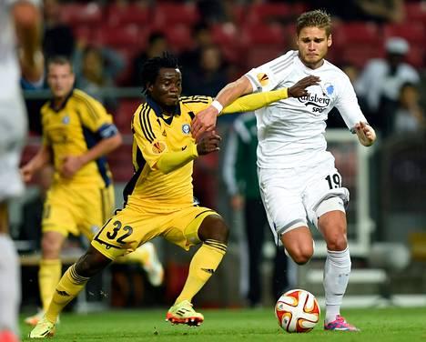 Anthony Annan (32) saattaa olla HJK:lle tärkeä pelaaja tulevissa otteluissa.