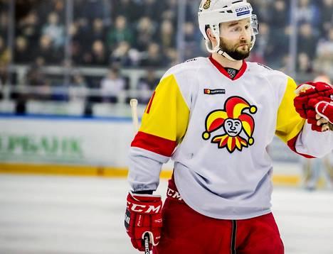Niklas Jensen teki Jokereille kolmannen maalin.