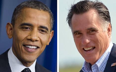 Barack Obama ja Mitt Romney.