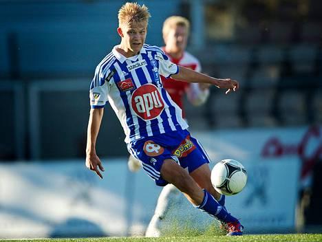 Joel Pohjanpalolla on sopimus HJK:n kanssa marraskuuhun 2015 asti.